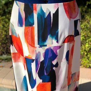 Ellen Tracy Beautiful multi colored skirt